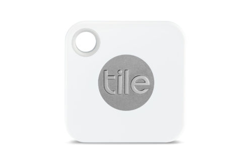 Den lille Tile kan sidde i en nøglering eller hæftes til en taske.