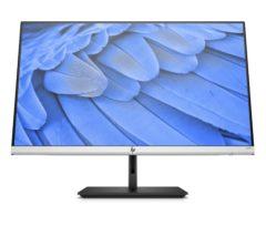HP-skærmen kan både drejes og hæves og sænkes.