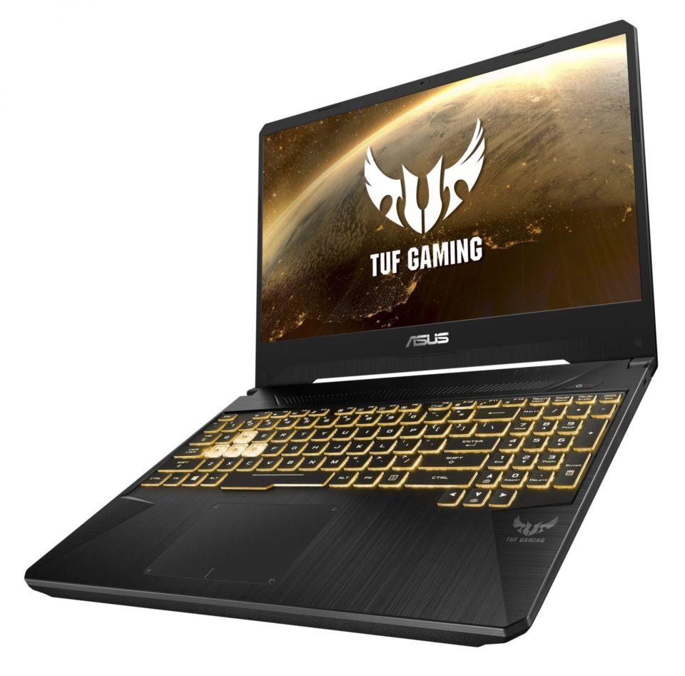 ASUS TUF Gaming FX505 er meget solidt bygget.