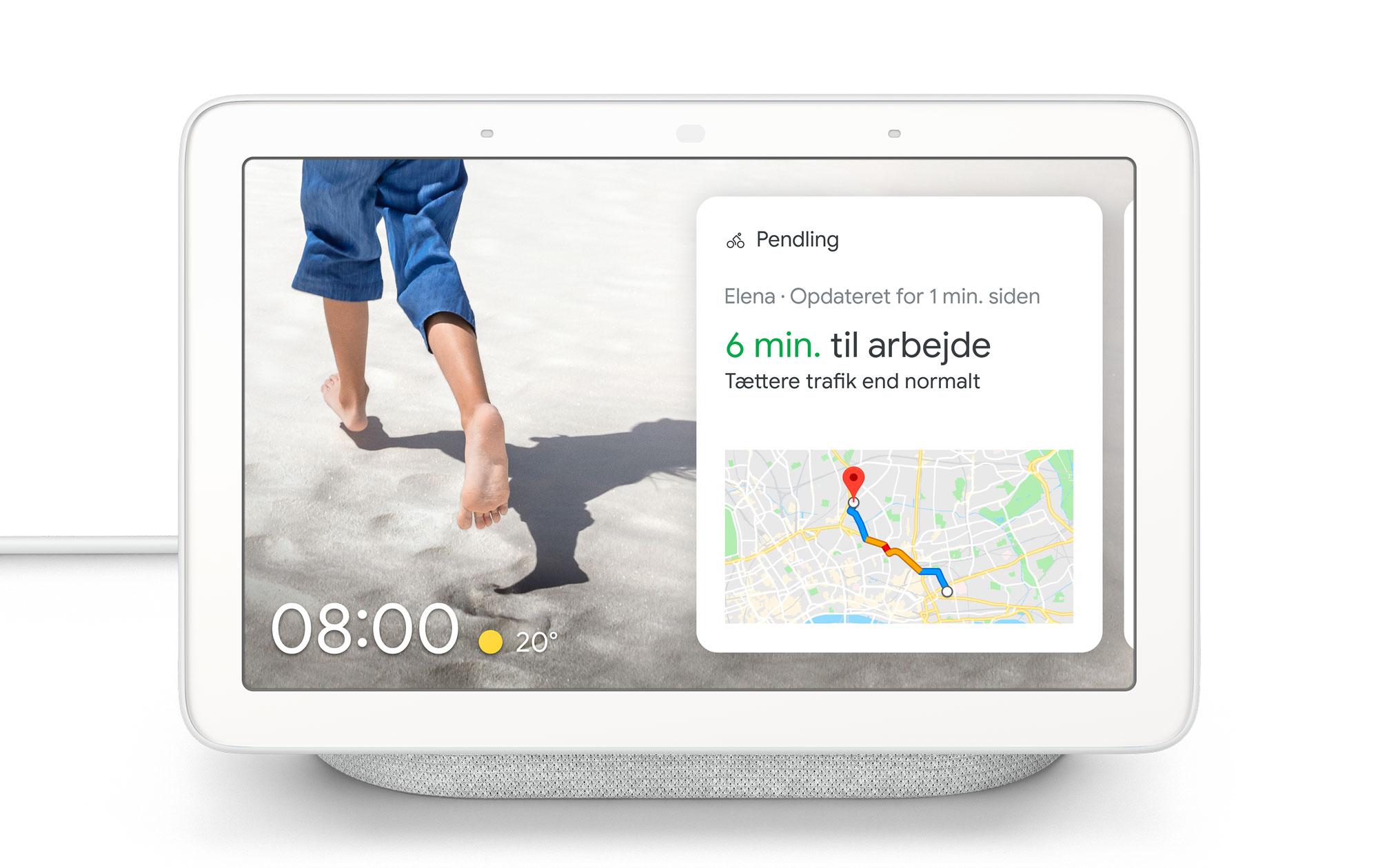 Google Nest Hub giver ekstra muligheder med Googles digitale assistent.